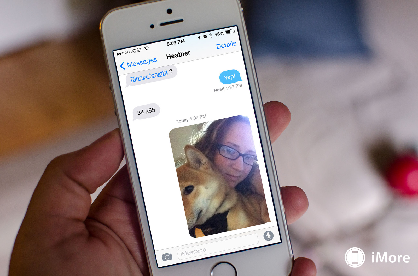How to quickly send a photo or video selfie with iMessage
