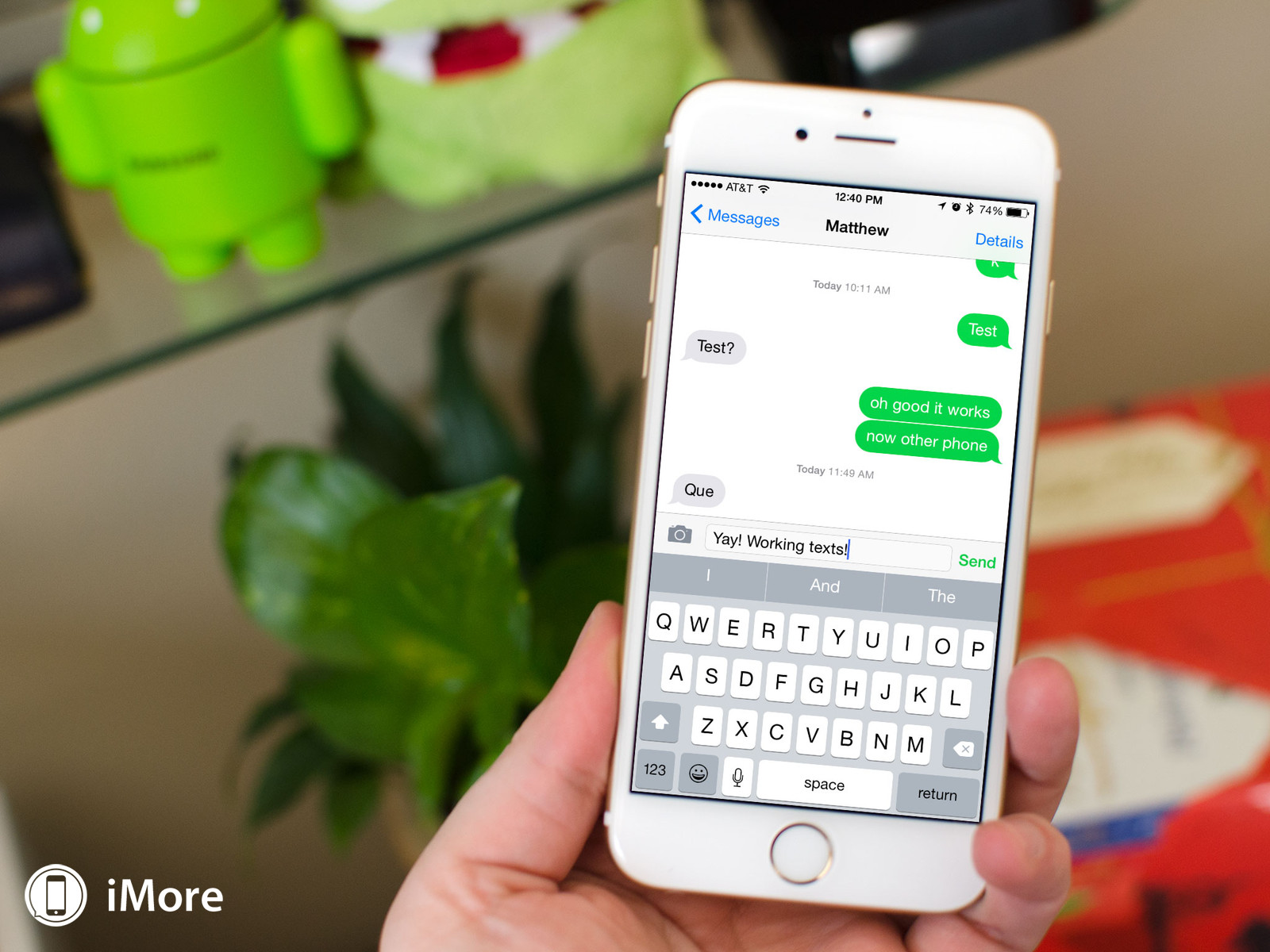How to fix issues with regular texts on iPhone 6 and 6 Plus