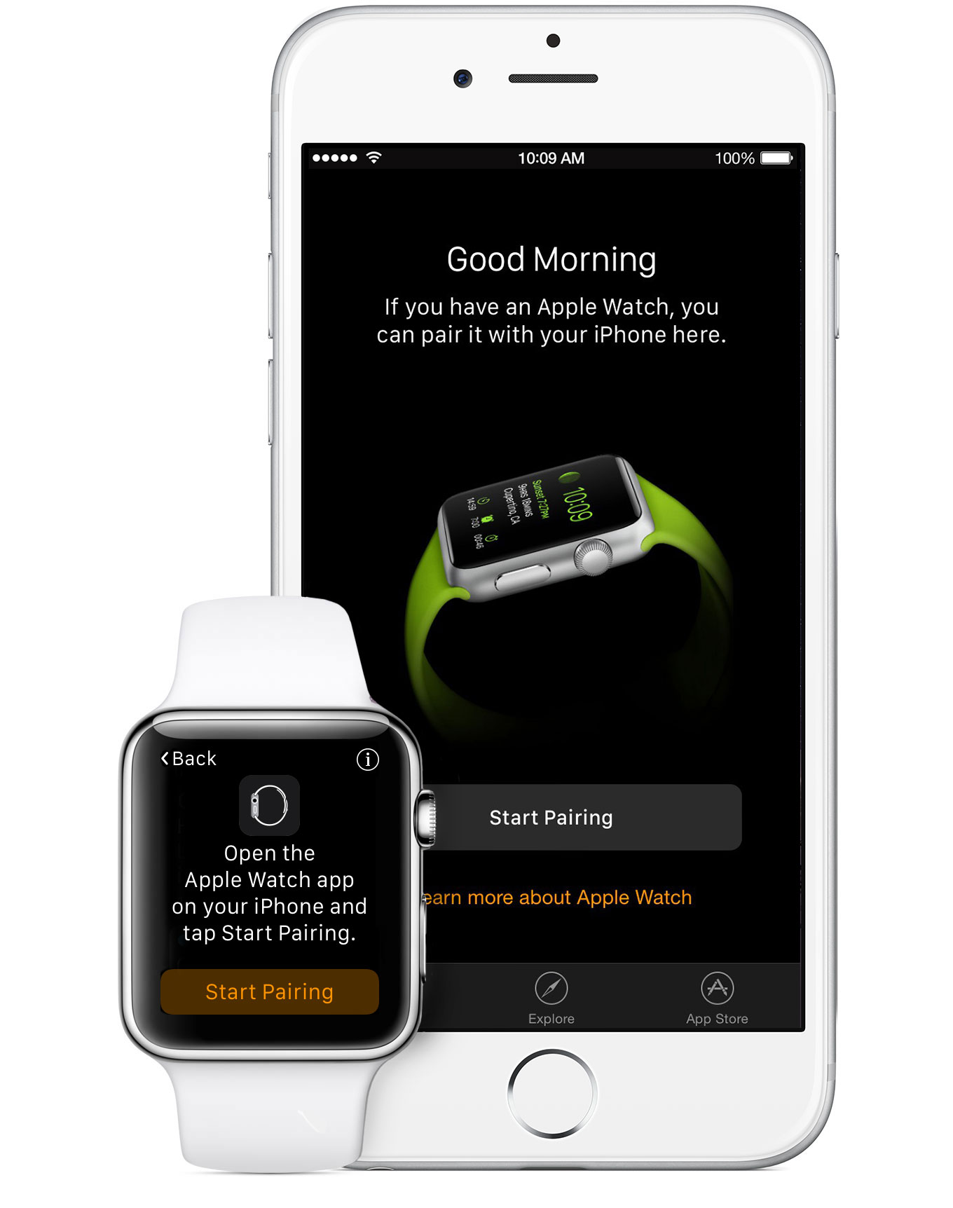 Set up and pair your Apple Watch