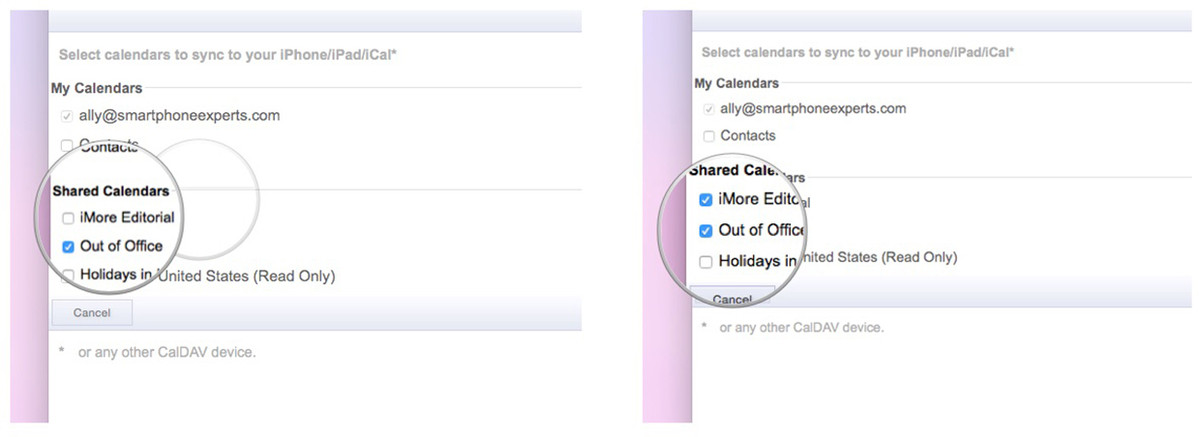 Shared Google Calendars not showing up on iPhone, iPad, and Mac? Here's the fix!