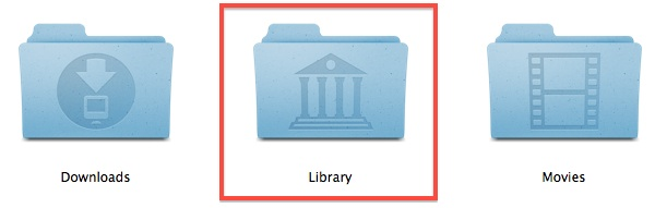The user Library folder in OS X