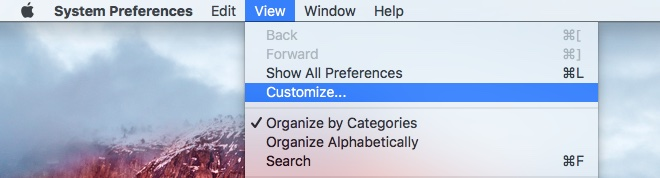 OS X El Capitan System Preferences customize Mac screenshot 005