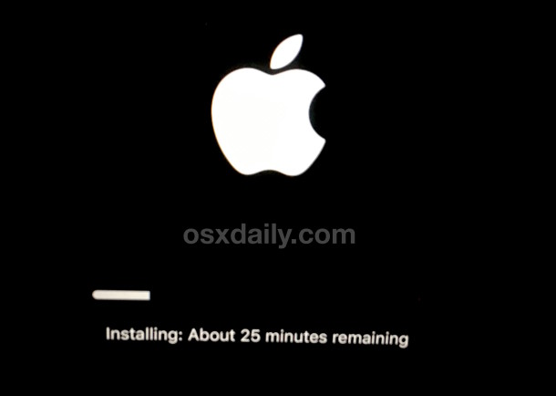 Reinstall OS X on a Mac via recovery mode